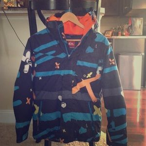 Boys Size 14 Quicksilver Ski Jacket